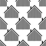 Το λογότυπο του σπιτιού Διανυσματικό έμβλημα απεικόνισης απεικόνιση αποθεμάτων