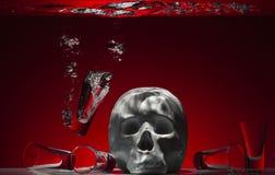 Το οινόπνευμα είναι ένα δηλητήριο Στοκ φωτογραφία με δικαίωμα ελεύθερης χρήσης