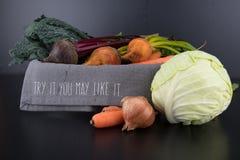Το δοκιμάστε χορτοφάγο κύπελλο Στοκ φωτογραφία με δικαίωμα ελεύθερης χρήσης