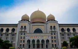 Το ομοσπονδιακό δικαστήριο της Μαλαισίας ή Istana mahkamah, Putrajaya Μαλαισία Στοκ Φωτογραφία