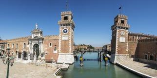 Το οπλοστάσιο της Βενετίας, Ιταλία Στοκ Φωτογραφίες