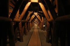 Το ορυχείο του ST Barbara κάτω από το τεχνικό μουσείο στο Ζάγκρεμπ Στοκ Εικόνα