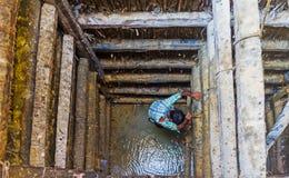 Το ορυχείο moonstone Στοκ φωτογραφίες με δικαίωμα ελεύθερης χρήσης