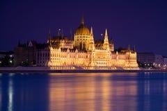το ουγγρικό Κοινοβούλιο Στοκ Φωτογραφίες