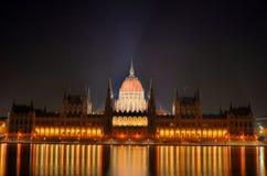 το ουγγρικό Κοινοβούλ&iot Στοκ φωτογραφία με δικαίωμα ελεύθερης χρήσης