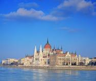το ουγγρικό Κοινοβούλ&iot Στοκ εικόνα με δικαίωμα ελεύθερης χρήσης