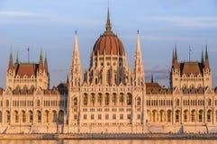 το ουγγρικό Κοινοβούλιο Στοκ Εικόνες