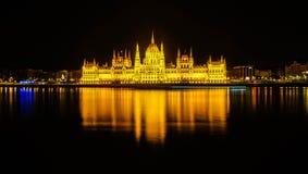 Το ουγγρικό Κοινοβούλιο Budappest Στοκ εικόνες με δικαίωμα ελεύθερης χρήσης