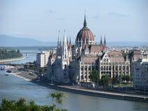 Το ουγγρικό κτήριο του Κοινοβουλίου Στοκ εικόνες με δικαίωμα ελεύθερης χρήσης