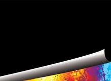 το ουράνιο τόξο μπουκλών &sig ελεύθερη απεικόνιση δικαιώματος