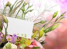 το λουλούδι ημέρας δίνει το γιο μητέρων mum Στοκ εικόνες με δικαίωμα ελεύθερης χρήσης