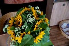 Το λουλούδι ηλίανθων Στοκ φωτογραφία με δικαίωμα ελεύθερης χρήσης
