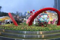 Το λουλούδι Χονγκ Κονγκ παρουσιάζει 2016 Στοκ εικόνα με δικαίωμα ελεύθερης χρήσης