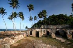 Το οχυρό τοίχων σε Morro κάνει το Σάο Πάολο, Bahia _ στοκ φωτογραφία με δικαίωμα ελεύθερης χρήσης