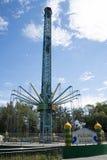 Το λούνα παρκ, σύγχρονη αρχιτεκτονική Στοκ Εικόνες