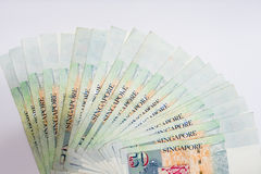Το δολάριο της Σιγκαπούρης, τραπεζογραμμάτιο Σιγκαπούρη στο άσπρο υπόβαθρο απομονώνει Στοκ εικόνες με δικαίωμα ελεύθερης χρήσης
