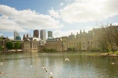 Το ολλανδικό Κοινοβούλιο Binnenhof, Χάγη Στοκ Εικόνες