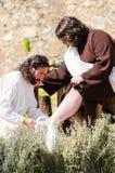 Το πάθος του Χριστού Στοκ φωτογραφία με δικαίωμα ελεύθερης χρήσης