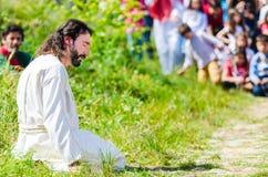Το πάθος του Χριστού Στοκ εικόνα με δικαίωμα ελεύθερης χρήσης