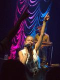 Το πάντα όμορφο LeeAnn Rimes στο Ώστιν Τέξας Στοκ Φωτογραφίες