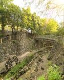"""Το πάρκο éŸ ³ ç """"¡ è¦ªæ° å Shinsui Otonashi… ¬åœ στηρίχτηκε στο ancie στοκ εικόνες"""