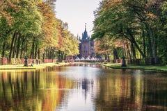 Το πάρκο στο Castle de Haar είναι ο καθορισμός της φαντασίας Fai νεραιδών Στοκ φωτογραφία με δικαίωμα ελεύθερης χρήσης