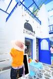 Το πάρκο, Ταϊλάνδη νεώτερα μια διασκέδαση και αγορές PA Santorini Στοκ φωτογραφία με δικαίωμα ελεύθερης χρήσης