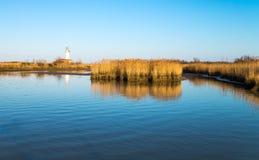 Το πάρκο της Po ποταμών εκβολής Στοκ εικόνα με δικαίωμα ελεύθερης χρήσης