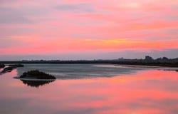 Το πάρκο της Po ποταμών εκβολής Στοκ φωτογραφία με δικαίωμα ελεύθερης χρήσης