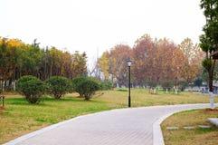 Το πάρκο Στοκ φωτογραφία με δικαίωμα ελεύθερης χρήσης
