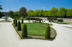 Το πάρκο Buen Retiro στη Μαδρίτη Στοκ φωτογραφία με δικαίωμα ελεύθερης χρήσης