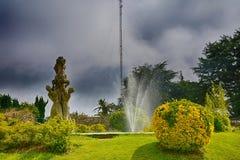 Το πάρκο Castro, Vigo, Ισπανία Στοκ Εικόνα