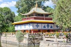 Το πάρκο Norbulingka σε Lhasa Στοκ Εικόνα