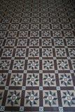 Το πάτωμα κεραμώνει το σχέδιο Στοκ Εικόνα