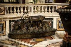 Το πάτωμα του baptistry στη βασιλική του ST John Lateran στη Ρώμη Ιταλία Στοκ φωτογραφίες με δικαίωμα ελεύθερης χρήσης