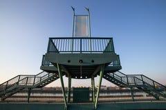 το πέρασμα καναλιών γεφυρών παρατήρησης η Γερμανία Στοκ φωτογραφία με δικαίωμα ελεύθερης χρήσης