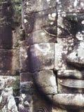 Το πέτρινο πρόσωπο σε Bayon, Angkor, Siem συγκεντρώνει, Καμπότζη Στοκ φωτογραφία με δικαίωμα ελεύθερης χρήσης