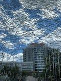 Το παγκόσμιο εξωτερικό το παράθυρο στοκ εικόνα με δικαίωμα ελεύθερης χρήσης