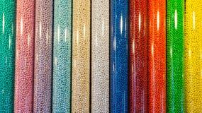 Το παγκόσμιο κατάστημα M&M στους χρόνους τακτοποιεί, Μανχάταν Στοκ φωτογραφία με δικαίωμα ελεύθερης χρήσης