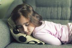 Το παιδί έγινε άρρωστο στην κατάθλιψη στοκ εικόνες με δικαίωμα ελεύθερης χρήσης