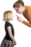 το παιδί μιλά το δάσκαλο Στοκ φωτογραφίες με δικαίωμα ελεύθερης χρήσης