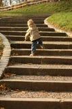 το παιδί σταδιοδρομίας πηγαίνει ευκαιρίες επάνω Στοκ Φωτογραφία