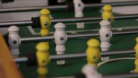 Το παιχνίδι επιτραπέζιου ποδοσφαίρου φιλμ μικρού μήκους