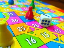 Το παιχνίδι χωρίζει σε τετράγωνα στοκ εικόνες