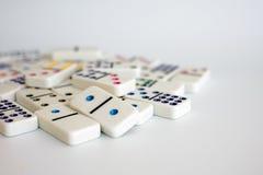Το παιχνίδι ντόμινο Στοκ φωτογραφίες με δικαίωμα ελεύθερης χρήσης