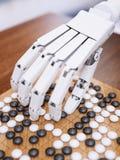 Το παιχνίδι τεχνητής νοημοσύνης πηγαίνει Στοκ Εικόνα