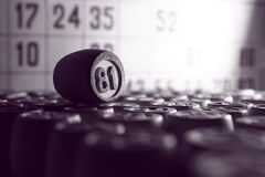 Το παιχνίδι του bingo στοκ εικόνα με δικαίωμα ελεύθερης χρήσης