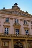 Το παλάτι αρχιεπισκόπων, Μπρατισλάβα, Σλοβακία στοκ εικόνες