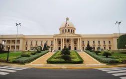 Το παλάτι Προέδρου στον santa-Domingo στοκ εικόνες