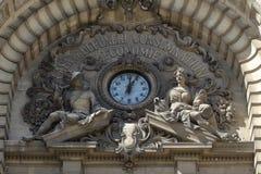 Το παλάτι της ΕΕΚ - λεωφόρος νίκης - Βουκουρέστι, Ρουμανία στοκ εικόνες
